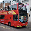 Belfast City Sightseeing Volvo Wright Eclipse Gemini SFZ7967.