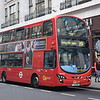 GoAhead London Volvo Wright Eclipse Gemini LJ61NVS WHV30 on Oxford Street with the 19 to Finsbury Park.