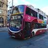 Lothian Buses Volvo Wright Eclipse Gemini SN59BHD 348 in Edinburgh on the 22 to Gyle Centre.