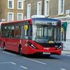Brand new Abellio London Enviro 200 MMC YX16OAM 8859 in Pimlico on the C10 to Victoria.