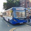 Stagecoach Enviro 200 MMC SN16OPM 26057 in Chester on the PR2 Park and Ride service to Sealand Road.