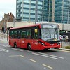 Abellio Greater London Enviro 200 MMC YX16OBG 8218 at East Croydon station on the 367 to Bromley North.