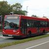 Galleon Travel Trustybus Scania East Lancs Myllennium YU02GHG (ex Go Ahead EL5) at Harlow on the 418.