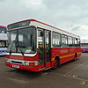 Stanways liveried Dennis Dart Northern Counties Paladin MIG9497 at Stoke City Britannia Stadium during the Potteries Omnibus Preservation Society running day.