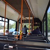 Former Notts & Derby Volvo Northern Counties Paladin L102LRA 102 interior at the Wellingborough running day.