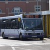 First Optare Solo MX54GZA 53143 at Ashton-Under-Lyne bus station on the 333.
