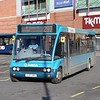 Arriva Optare Solo YJ07VRU 2504 at Kidderminster on the 297 to Bridgnorth.