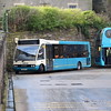 Arriva Optare Solo YK08ETU 2819 at Durham bus station.
