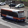 Centrebus Optare Solo YJ05WDE 260 at Luton Interchange on the 88.