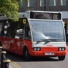 Rosso Optare Solo YJ05JWM 61 in Bury on the 479 Limefield & Chesham Circular.