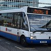Z&S Transport Optare Solo W83NDW at Milton Keynes Central on the 18 to Bletchley.