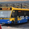 Banga Buses 530-branded Optare Solo YN03NDK at Telford bus station on the 891 to Wolverhampton.