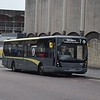 Blackpool Transport Plaxton Centro BF60UVR 532 at North station on the 7 to Cleveleys.