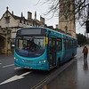 Arriva Sapphire VDL Wright Pulsar FL63DWW 3796 in Oxford on the new X8 route from Aylesbury.