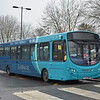 Arriva Sapphire VDL Wright Pulsar FL63DWW 3796 in Oxford on the new X8 route to Aylesbury.