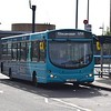 Arriva Sapphire VDL Wright Pulsar YJ08DZN 3762 at Luton Interchange on the 101 to Stevenage.