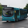 Arriva Sapphire 280-branded VDL Wright Pulsar FL63DWY 3798 in Aylesbury on the 300 from High Wycombe.