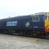 DRS Class 20 no. 20308 at Gresty Bridge depot, Crewe.