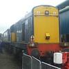 DRS Class 20 at Gresty Bridge depot, Crewe.