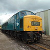 Class 46 Peak no. 46035 at the Crewe Heritage Centre.