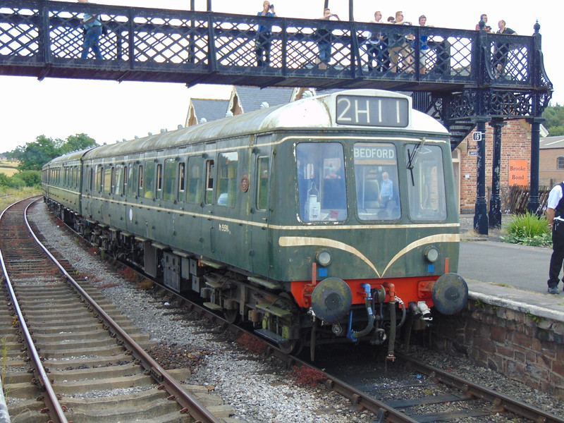 Class 127 driving trailer no. 51591 at Swanwick Junction.