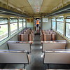 Class 141 Pacer no. 141113 interior at Swanwick Junction.