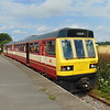 Class 141 Pacer no. 141113 at Swanwick Junction.
