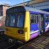 Northern Class 142 Pacer no. 142068 at MetroCentre having arrived from Middlesborough.