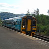 Arriva Trains Wales Class 158 Express Sprinter no. 158824 at Llandudno Junction with a service to Holyhead.