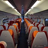 East Midlands Trains Class 158 Express Sprinter no. 158770 interior at Norwich on a Nottingham service.
