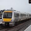 Chiltern Railways Class 168 Clubman no. 168109 at Oxford on a Marylebone service.