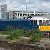 """Preserved Class 86 no. 86259 (E3137) """"Peter Pan"""" / """"Les Ross"""" at Rugby."""