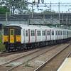 Abellio Greater Anglia Class 317 no. 317660 leaving Broxbourne for Liverpool Street.