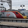 Virgin Trains Class 390 Pendolino no. 390134 at Manchester Piccadilly on a Euston service.