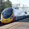 Virgin Trains Class 390 Pendolino passing Wolverton.