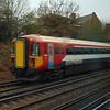 Gatwick Express Class 442 no. 442416 heads through Clapham Junction.