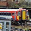 Gatwick Express Class 442 no. 442417 passes Clapham Junction.