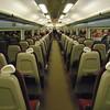 Gatwick Express Class 442 interior at London Victoria.