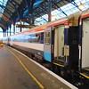 Boarding Southern Gatwick Express Class 442 no. 442401 at Brighton.