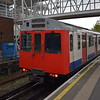 London Underground District Line D-stock no. 7034 at Acton Town.