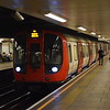 London Underground District Line S7 Stock no. 21443 at Mile End on an Upminster service.