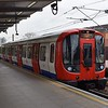 London Underground District Line S7 Stock no. 21439 at West Ham on an Ealing Broadway service.