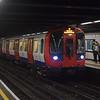 London Underground Circle Line S7 Stock arriving at Euston Square.