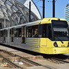 Manchester Metrolink Bombardier M5000 tram no. 3042 at Victoria on a Piccadilly service.