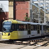 Manchester Metrolink Bombardier M5000 tram no. 3090 at Victoria on a Rochdale service.