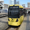 Manchester Metrolink Bombardier M5000 tram no. 3029 at Victoria on a Bury service.