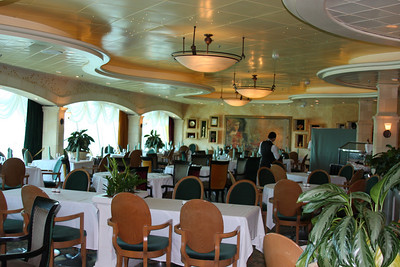 IMG_1372  Portafino - fine dining area on the ship
