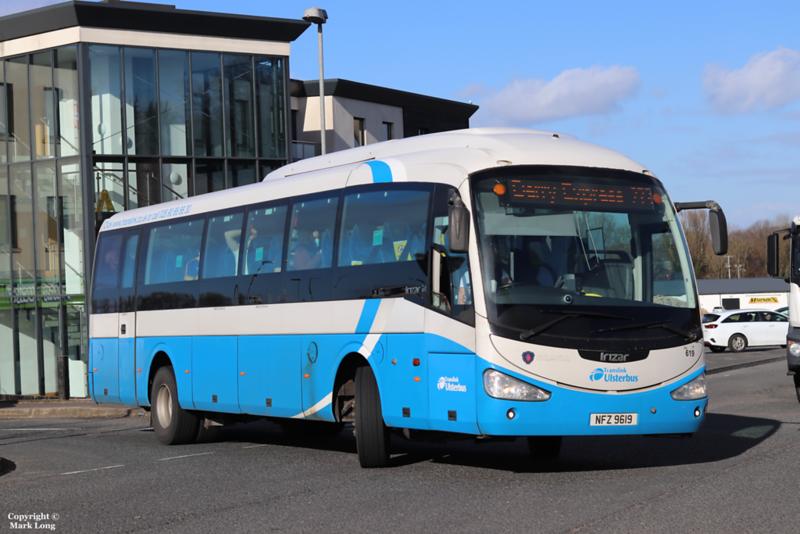 Translink Ulsterbus 619
