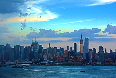NYC Incoming Sundown Storm