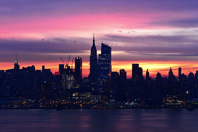 NYC Dawn Skies